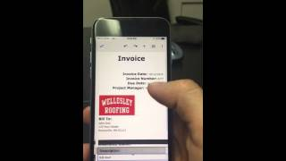 How to use Google Docs invoicing template.