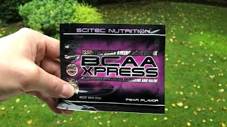 Scitec Nutrition BCAA Xpress Pear Flavour Review | JS Fitness