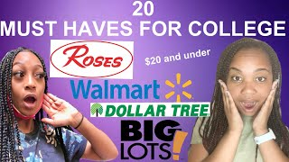 20 ITEMS YOU WILL NEED FOR COLLEGE | 2020