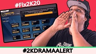 Didn't know it was possible for a launch this messy. Plenty of bugs are preventing people from playing NBA 2K20 and no one is happy about it. NBA 2K20 players from all over came together last night in protest... Last 2KDramaAlert: https://www.youtube.com/watch?v=YQnjAtGGRbA&list=PLQ9mxOf7Eq8KqxcbaQ4BkRAIHPyGa0I-P&index=2  ► SUBSCRIBE: http://goo.gl/s8cskJ  ► TWITTER: https://twitter.com/CallMeAgent00  ► INSTAGRAM: https://www.instagram.com/callmeagentzero/