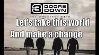 3 Doors Down-One Light Lyrics