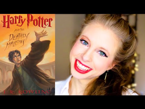 HARRY POTTER AND THE DEATHLY HALLOWS BY JK ROWLING | booktalk wtih XTINEMAY