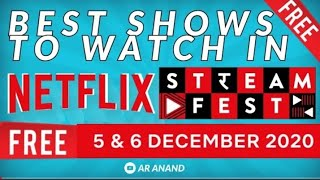 HOW TO GET NETFLIX FOR FREE | BEST MOVIE ON NETFLIX | NETFLIX 5-6 DEC FREE