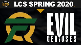 FLY vs EG, Game 1 - LCS 2020 Spring Playoffs Semifinals - FlyQuest vs Evil Geniuses G1