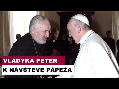 Slovo vladyku Petra k duchovnej príprave na návštevu Svätého Otca Františka