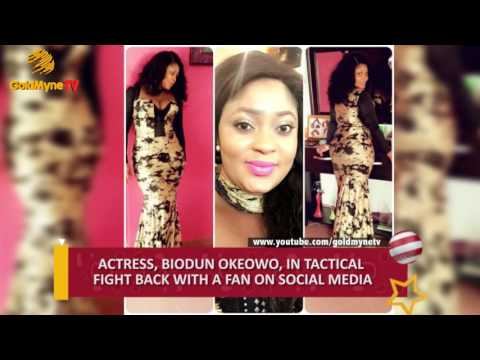 ACTRESS, BIODUN OKEOWO FIGHTS TACTICAL WITH A FAN ON SOCIAL MEDIA