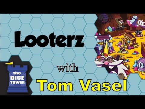 Looterz Review - with Tom Vasel