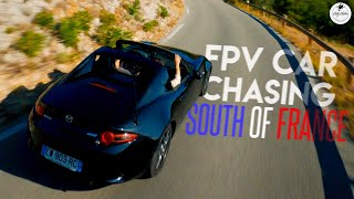CAR CHASING in the French Calanques | Cinematic FPV