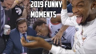 Most Funny Moments in NBA • Jokes & Bloopers 2019