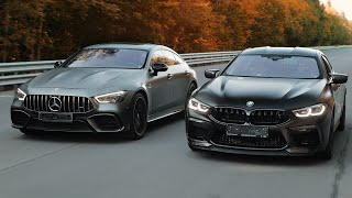 BMW M8 GC vs Mercedes-AMG GT63s. Дзюдоисты-тяжеловесы
