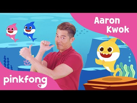 Aaron Kwok dancing to Baby Shark | 2nd version | 天王版BabyShark🦈 | PINKFONG Baby Shark X Harbour City