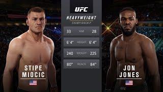 UFC 2 - Стипе Миочич против Джона Джонса