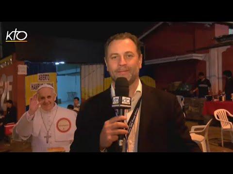 Une journée chargée pour le pape au Paraguay