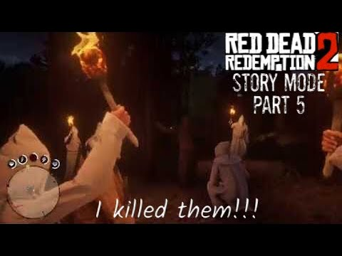 Red Dead Redemption (RDR2) story mode - Part 5