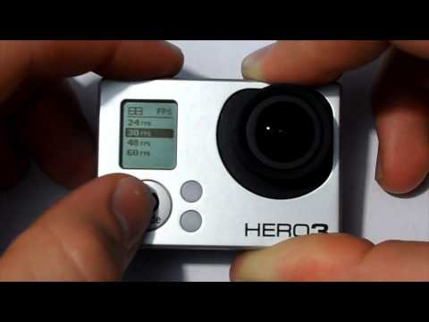 "Gopro Hero 3 ""Video Modes"" Lesson 1"