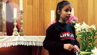 10-YEAR-OLD GIRL'S INSPIRATIONAL SPEECH ON SELFESTEEM