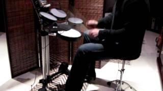 Arcadia - Keep Me In The Dark [drum cover] Roland HD-3 V-Drums