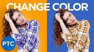 How To Change The Color of ANYTHING In Photoshop | Select and Change ANY Color