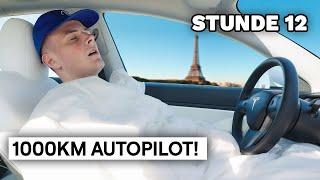 1000km TESLA Autopilot Test!   DAVE