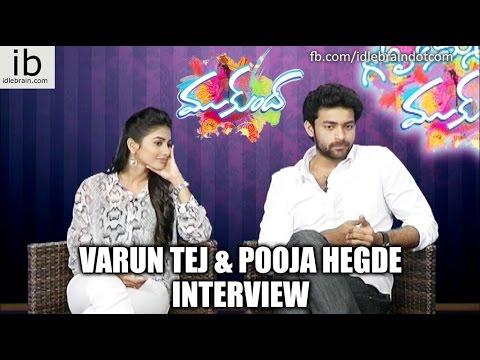 Varun Tej and Pooja Hegde Interview about Mukunda