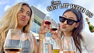 Classy, bougie, ratchetttt. Come Wine Tasting With Us! Girls date🍷💕