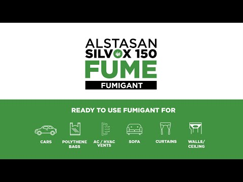 Alstasan Silvox 150 Fume: Accelerated Silver Hydrogen Peroxide based Air Fumigant