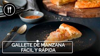 Galette de manzana: la TARTA DE MANZANA más fácil del mundo