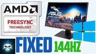 UNLOCK guide 144Hz FreeSync on MG279Q Windows 10 /8