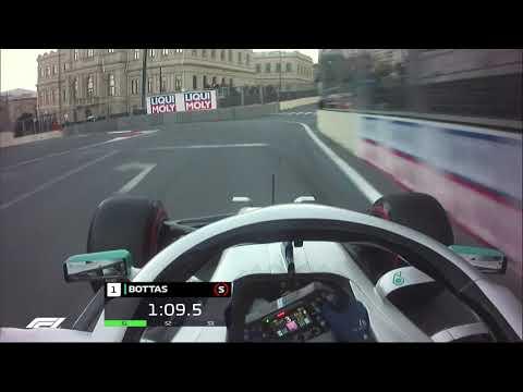 2019 Azerbaijan Grand Prix: Valtteri Bottas' Pole Lap | Pirelli