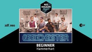 Beginner feat. Geekchester - Hammerhart | NEO MAGAZIN ROYALE mit Jan Böhmermann - ZDFneo