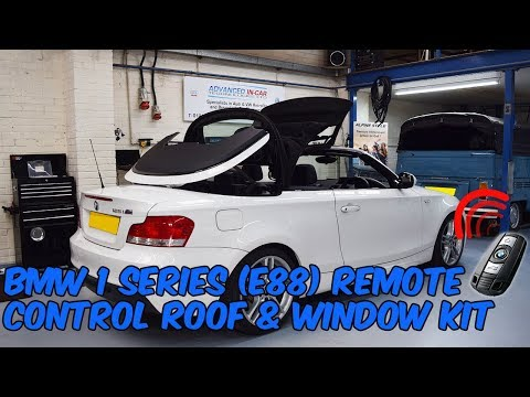 BMW 1 Series E88 Convertible Remote Roof Open & Close Kit
