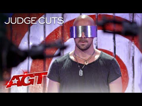 Danger Act Jonathan Goodwin Brings His MOST DANGEROUS Performance?! – America's Got Talent 2020