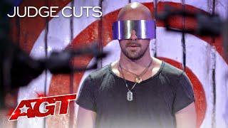 Danger Act Jonathan Goodwin Brings His MOST DANGEROUS Performance?! - America's Got Talent 2020 thumbnail