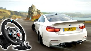 best steering wheel settings for forza horizon 4 xbox one