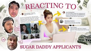 SUGAR DADDY APPLICANTS (Reaction of my Dad, Brother and Manager)