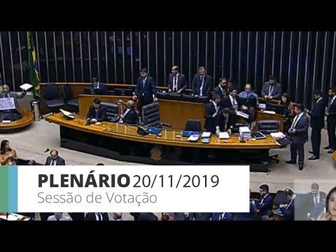 Plenário - PEC 372/17 - Cria as polícias penais - 20/11/2019 - 19:00