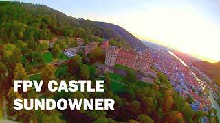Castle Sundowner | FPV racing drone flight at the Heidelberg Castle