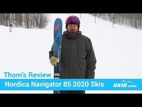 Video: Nordica Navigator 85 Skis 2020 20 50