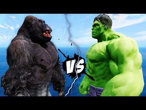 HULK VS KING KONG - EPIC BATTLE