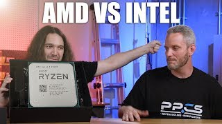 AMD vs Intel with Gamers Nexus
