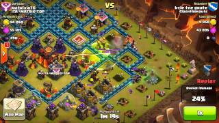 Clash of Clans - 3 Starring a Maxed Base w/ Valkyries!