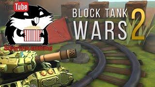 """Block Tank Wars 2 """"Мобильные танчики"""" с Сибирским Леммингом"""