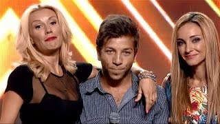 Милен Димитров изпълнява My All на Mariah Carey   X Factor кастинг (15.09.2015)