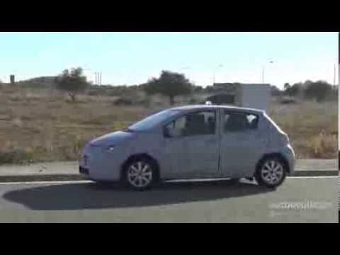 Spy Video Toyota Yaris Facelift Autoevolution