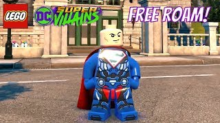 LEGO DC Super Villains Free Roam Gameplay with The Flash, Super Lex Luthor and more!