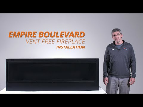 How to Install the Empire Boulevard Gas Fireplace