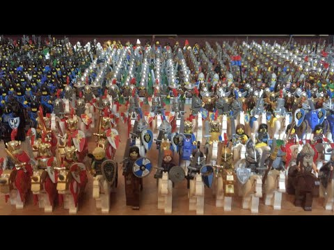 800+ LEGO CASTLE & KINGDOMS RITTER / KNIGHTS ARMEE / ARMY