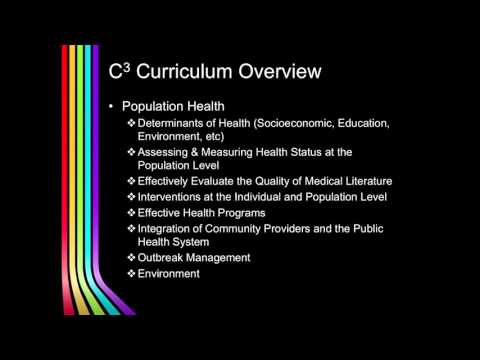 VCU School of Medicine C3 Curriculum Overview