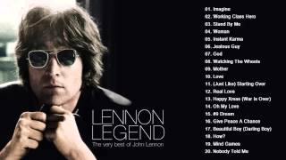 John Lennon Greatest Hits Playlist   Collection HDHQ