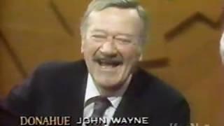 Phil Donahue interviews John Wayne (1976)